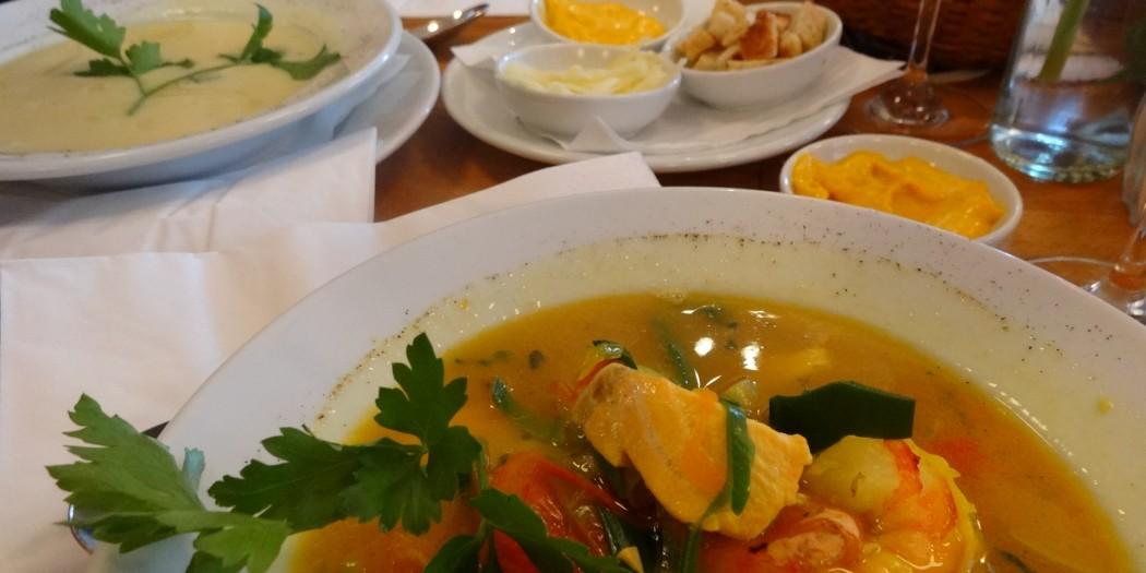 Muggel - Soupe au poisson