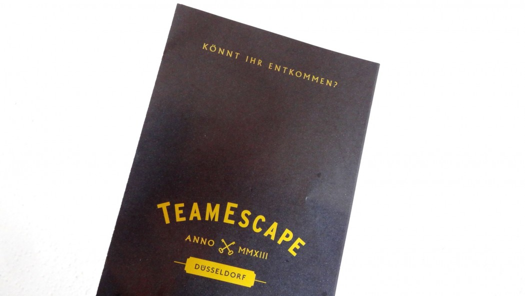 Escape room brochure