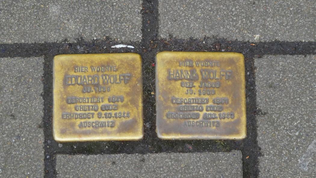 Stolpersteine à Düsseldorf