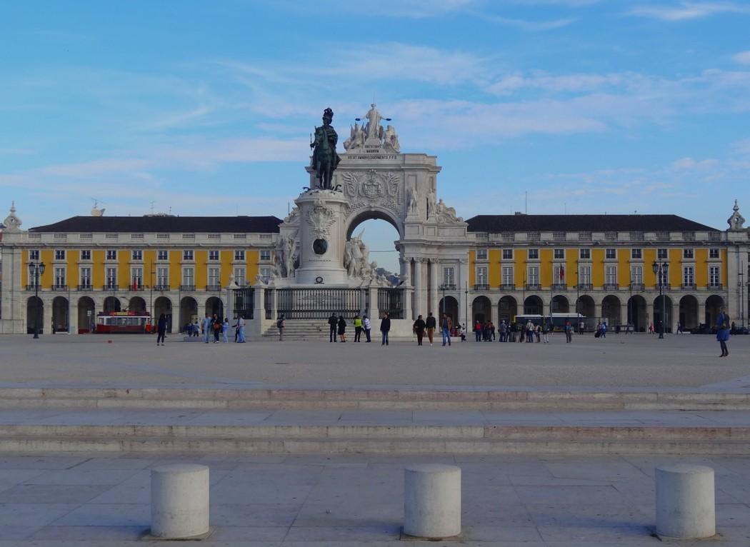 Place du Commerce Lisbonne