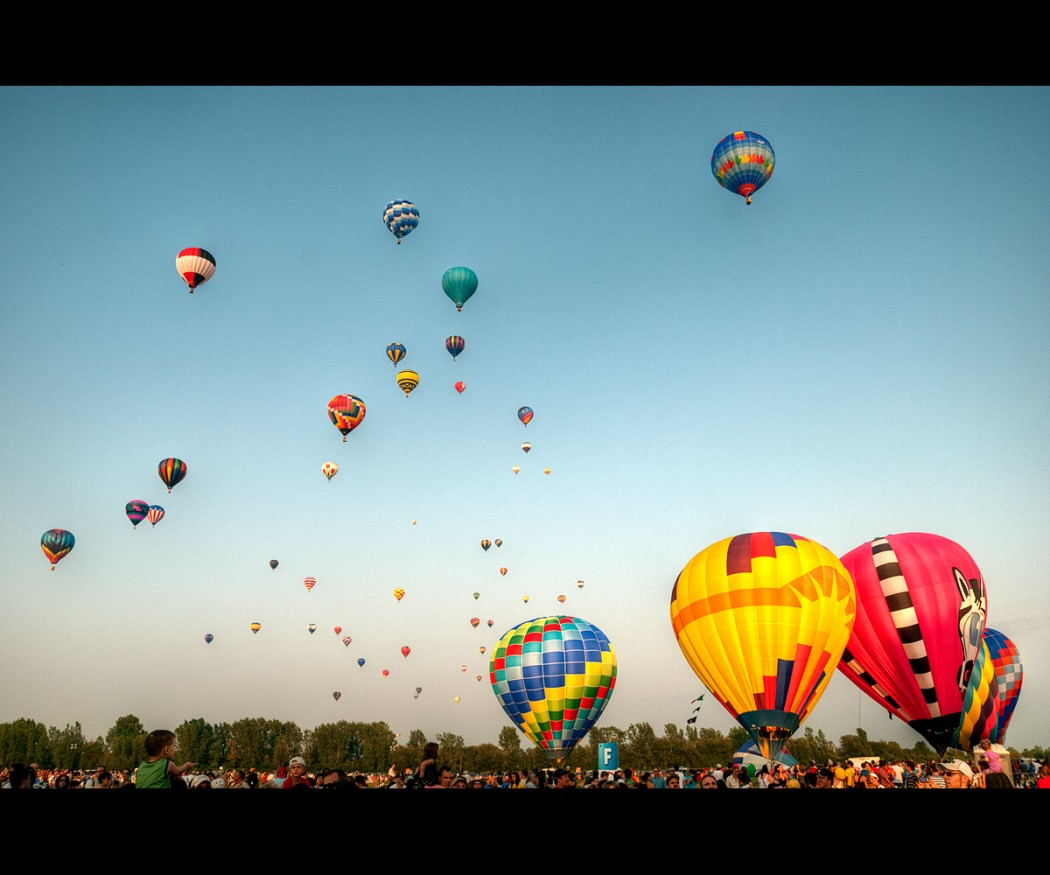 Montgolfière © Thomas Plessis via Flickr