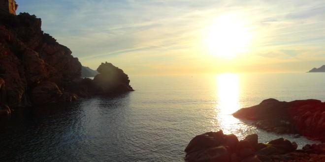 Porto Coucher de Soleil Corse