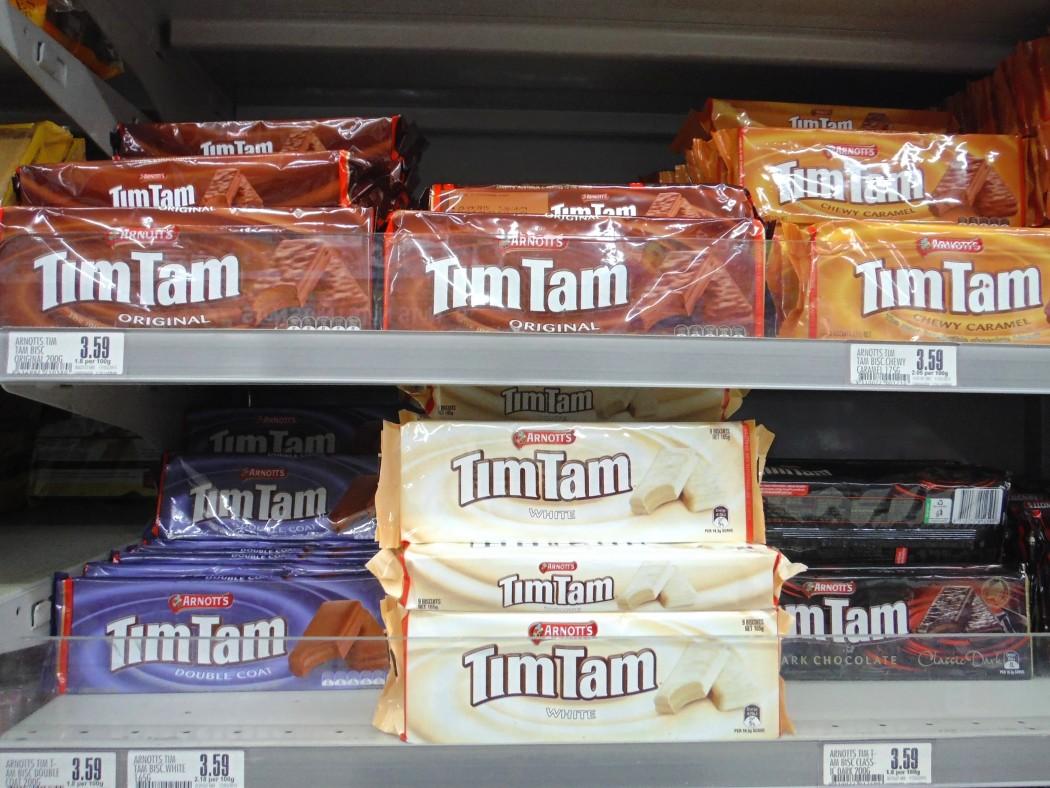 TimTam Gateaux Nouvelle-Zélande