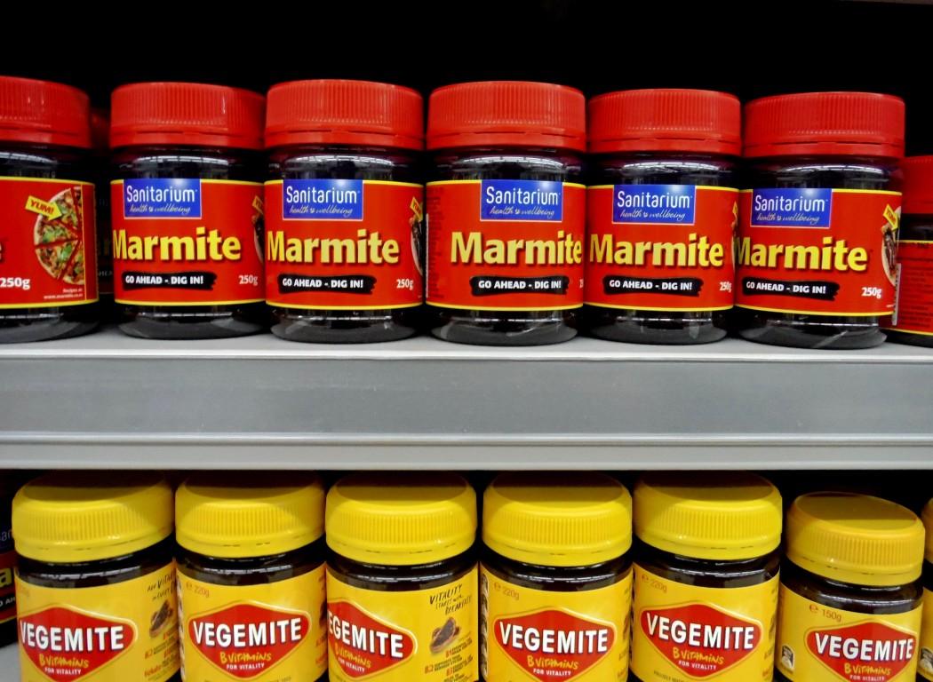 Marmite & Vegemite
