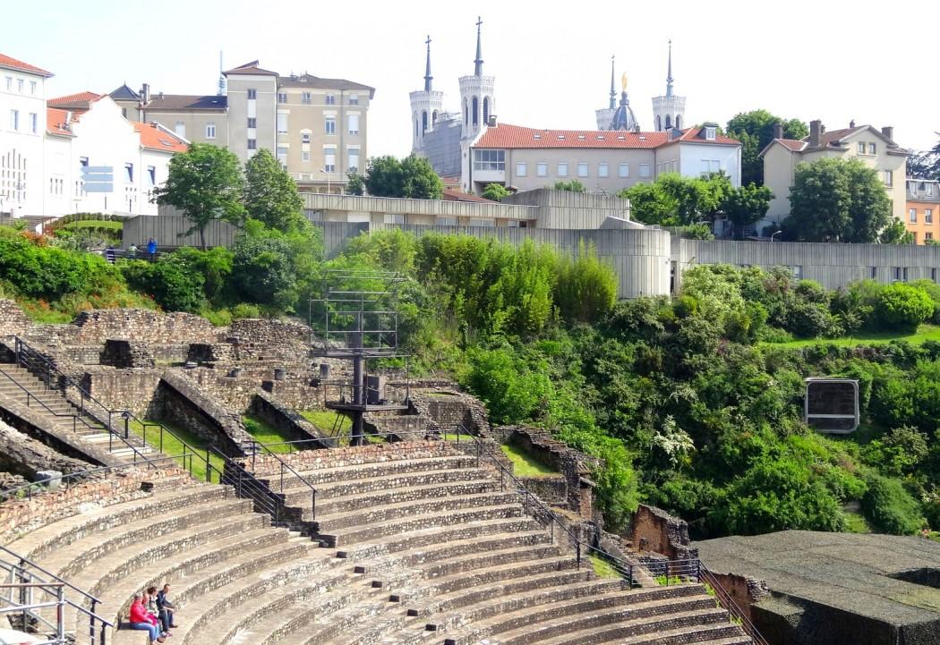 Théâtre antique romain Lyon
