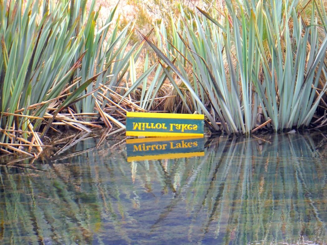 Mirror Lakes Nouvelle-Zélande