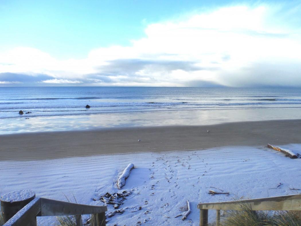 Mer et Neige Nouvelle-Zélande © Vie d'Expat