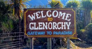 Panneau Glenorchy Nouvelle-Zélande