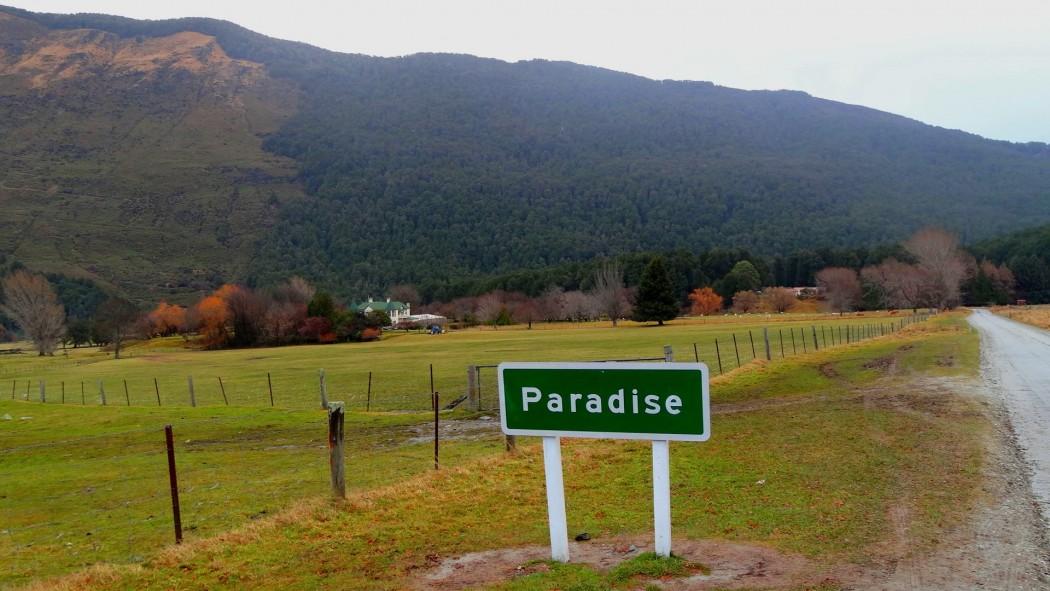Paradise Nouvelle-Zélande Panneau