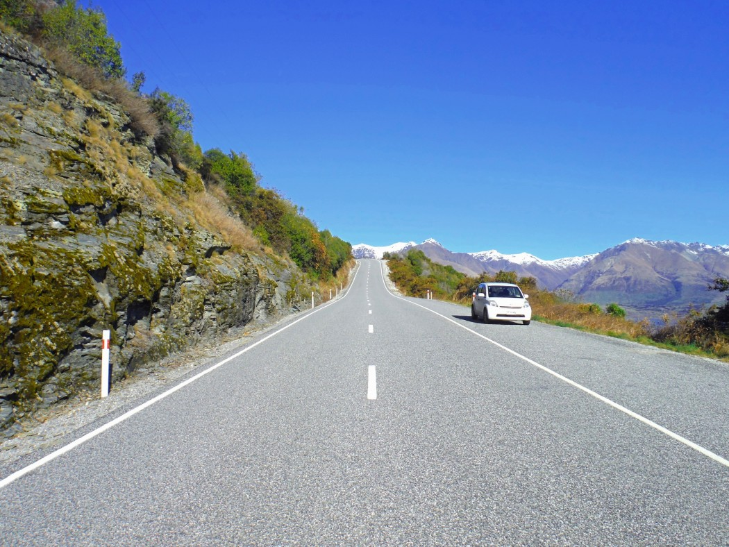 Route Queenstown Glenorchy © Vie d'Expat