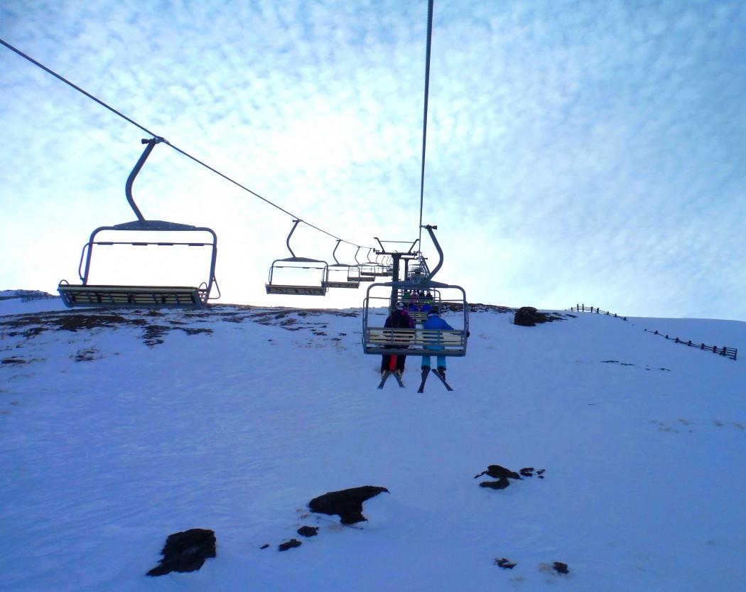 Télésiège Ski Nouvelle-Zélande