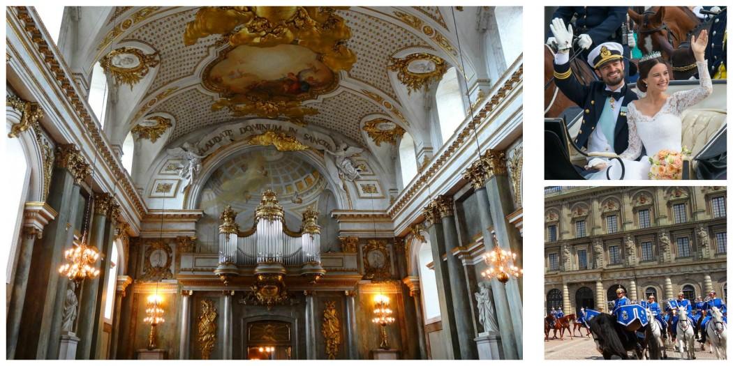 Collage Château Stockholm