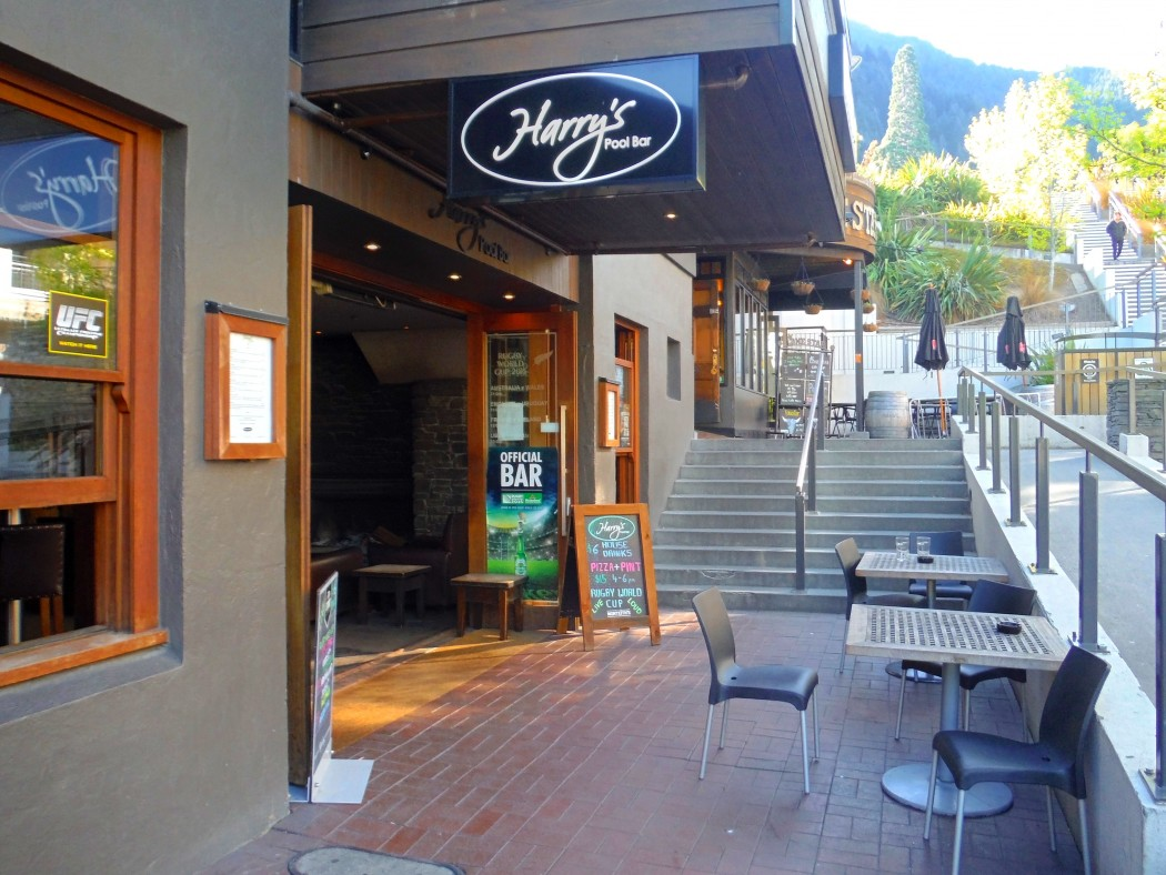 Extérieur Harry's Bar Queenstown