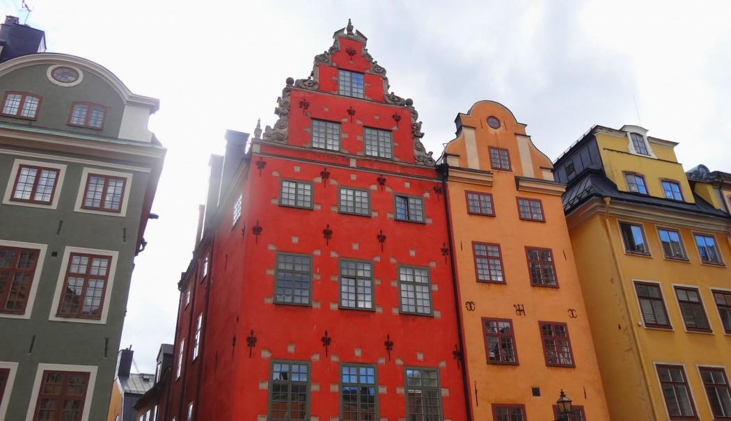Maisons Colorés Stockholm