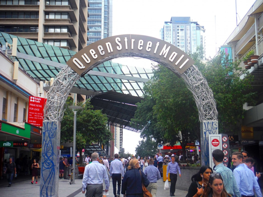 Queen Street Mall Brisbane