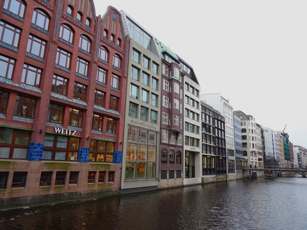 Canaux Hamburg