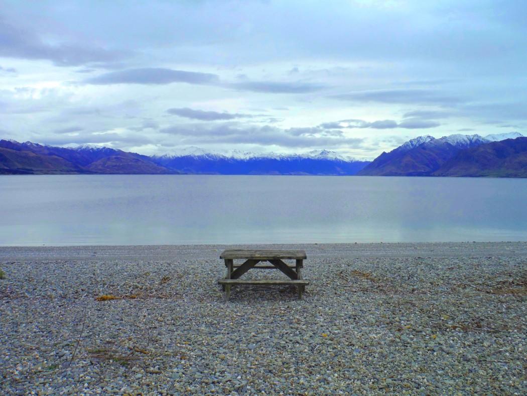 Nouvelle-Zélande Lake Hawea