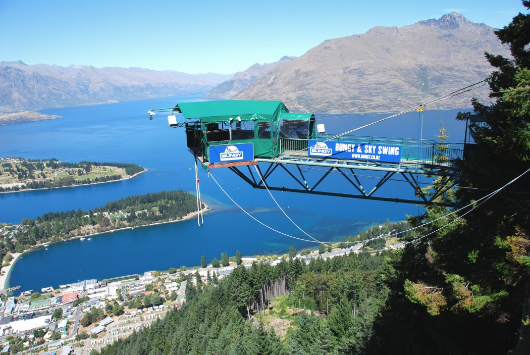 The Ledge Bungy Queenstown