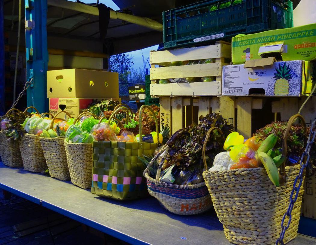 fischmarkt fruits hambourg