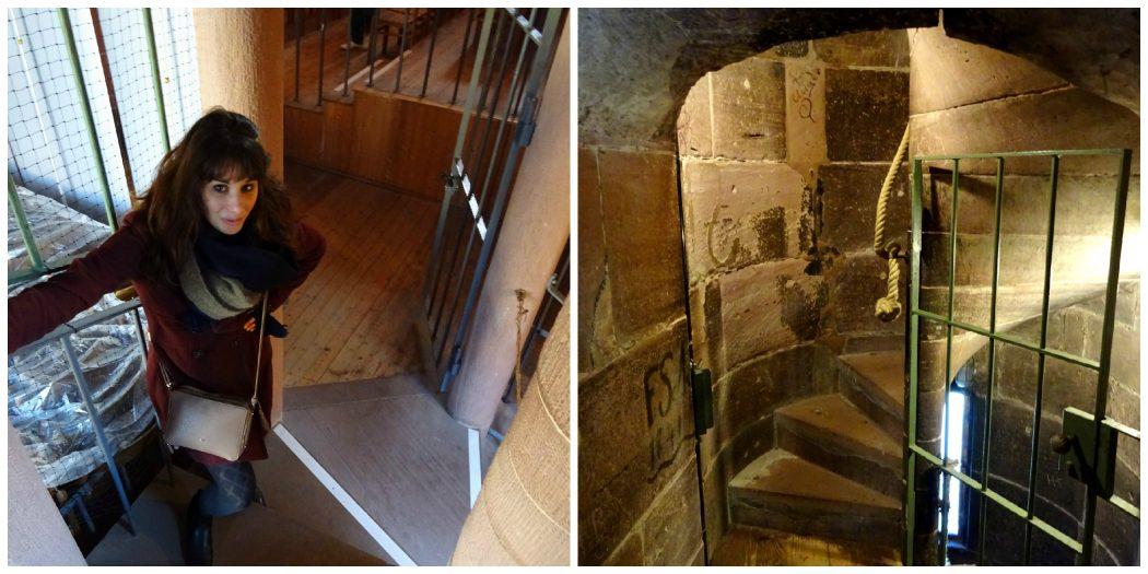 escalier tour eglise du saint esprit heidelberg