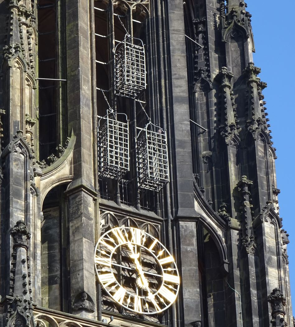 Lambertikirche cages Münster
