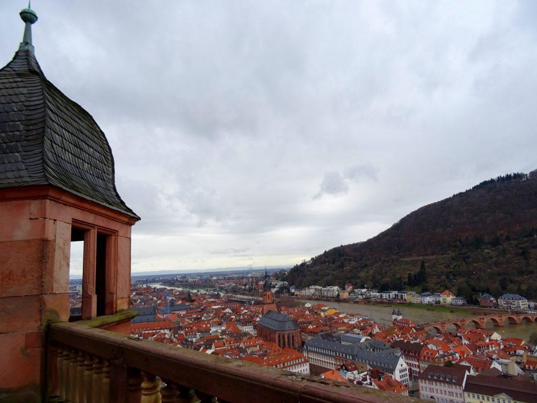 Vue du château de Heidelberg